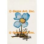 Blue Flower  - #POR117  -  PRINT