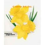 Yellow Daffodils  - #LOR901  -  PRINT