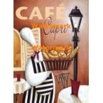 Cafe Capri  - #XXKL10767  -  PRINT