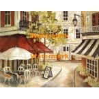 Daytime Cafe I  - #XXKL11581  -  PRINT