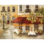Daytime Cafe II  - #XXKL11582  -  PRINT