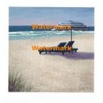 Beach Umbrella  - #XXKP10154  -  PRINT