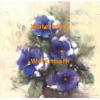 Blue Splendor  - #XXKP10365  -  PRINT
