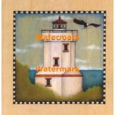 Lighthouse Cove IV  - #XXKP10424  -  PRINT