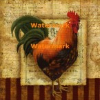Prize Rooster I  - #XXKP12985  -  PRINT