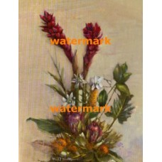 Tropical Floral  - #XXKL10894  -  PRINT