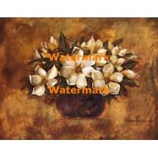 Antique Magnolia II  - #XXKL6430  -  PRINT