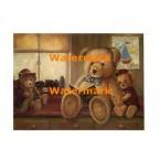 Bear Stories  - #XXKL9161  -  PRINT