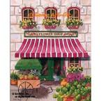 Flower Shop  - #MOR809  -  PRINT