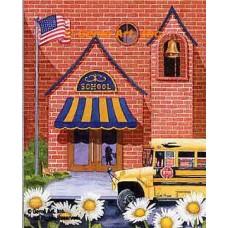 School Days  - #MOR823  -  PRINT