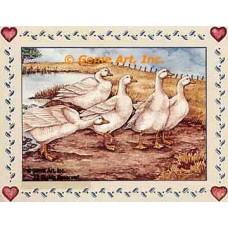 Geese  - #YOR1  -  PRINT