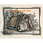 Antique Hare  - #YOR18  -  PRINT