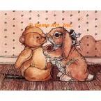 Teddy & Bunny  - #YOR19  -  PRINT