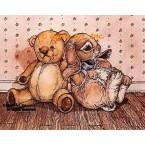 Teddy & Bunny  - #YOR20  -  PRINT