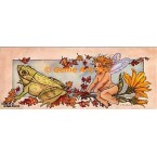 Fairy & Frog  - #YOR27  -  PRINT