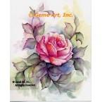 Pink Rose  - #SOR106  -  PRINT