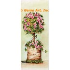 Pink Flower Bush  - #SOR123  -  PRINT