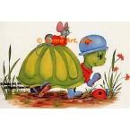 Mouse, Turtle, & Ladybugs  - #SOR45  -  PRINT