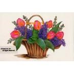 Lilacs & Tulips  - #SOR55  -  PRINT