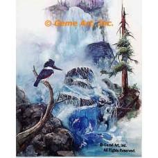 Kingfisher's Realm  - LOR412  -  PRINT