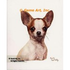 Chihuahua  - #IOR109  -  PRINT