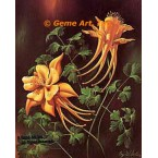 Yellow Columbine  - #IOR11  -  PRINT