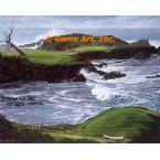 16th Hole at Cypress Point Golf Club, CA  - IOR163  -  PRINT