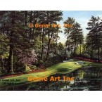 12th Hole at Augusta  - IOR164  -  PRINT
