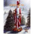 Santa & Elves  - #IOR222  -  PRINT