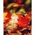 Fall Leaves  - #IOR233  -  PRINT