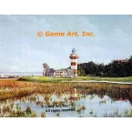 18th Hole Harbour Town  - IOR238  -  PRINT