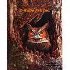 Great Horned Owl  - #IOR35  -  PRINT