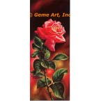 Sunset Jubilee Rose  - #IOR39  -  PRINT