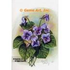 Violets  - #IOR43  -  PRINT