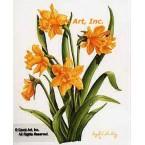 Yellow Daffodils  - #IOR89  -  PRINT