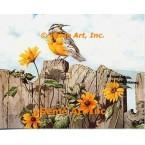 Western Meadowlark  - #UOR15  -  PRINT