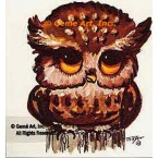 Owl  - #TOR203  -  PRINT