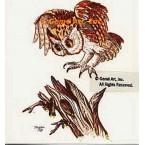 Owl Landing  - #TOR209  -  PRINT