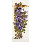 Violets  - #TOR611  -  PRINT