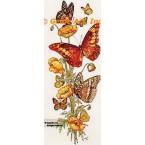 Flowers & Butterflies  - TOR620  -  PRINT
