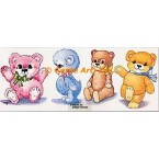 Teddy Bears  - #TOR640  -  PRINT