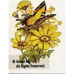 Butterflies & Daisies  - #TOR4016A  -  PRINT