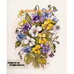 Violets  - #TOR865  -  PRINT