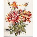 Roses  - #TOR868  -  PRINT