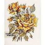 Yellow Roses  - #TOR870  -  PRINT