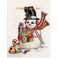 Snowman  - #TOR4059  -  PRINT