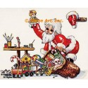 1. Santa's Workshop  - #TB4061  -  FIVE PRINT 2x3""