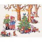 """1. Christmas  - #TOR458  -  FIVE PRINT 8x10"""""""