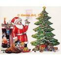 "1. Christmas Delivery  - #TM459  -  FIVE PRINTS 8x10"""