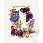 Three Butterflies  - #TOR862  -  PRINT